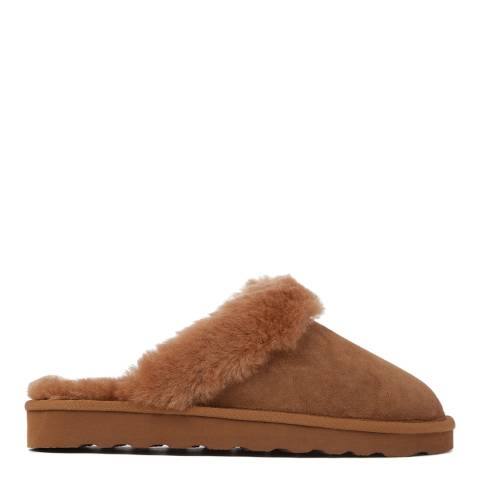 Australia Luxe Collective Caramel Shearling Mool Classic Mule Slipper