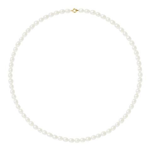 Mitzuko Yellow Gold Pearl Necklace