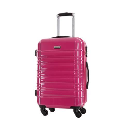 Travel One Pink Spinner Princeton Suitcase 55cm