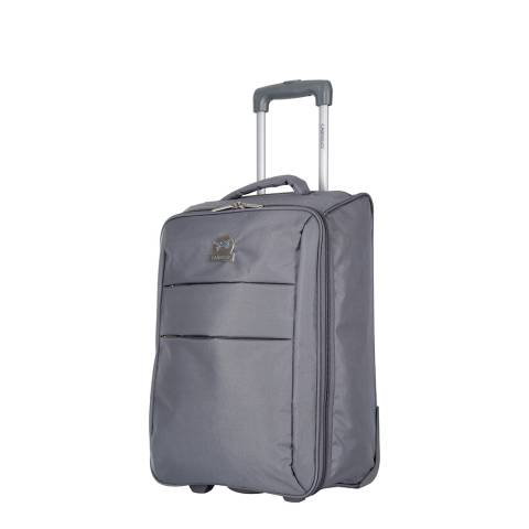 Travel One Grey Cabin Andalus Suitcase 50cm