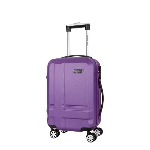 Travel One Violet Spinner Sea Suitcase 45cm
