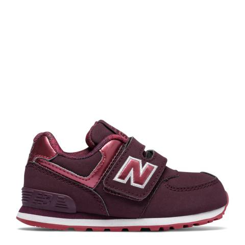 New Balance Infant Dark Pink Shoes