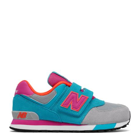 New Balance Multicoloured Hook and Loop