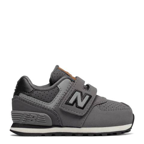 New Balance Grey Hook and Loop