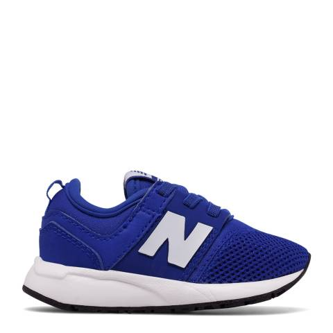New Balance Kids Blue/White Kids 247 Core