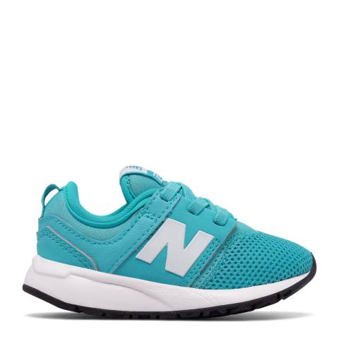 New Balance Infant Turquoise Classic Sneakers