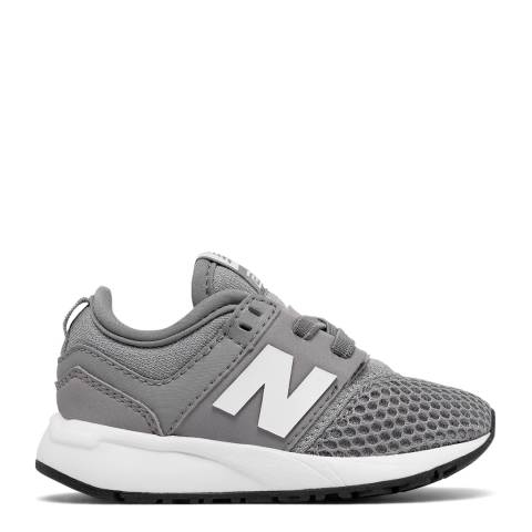 New Balance Infant Grey Classic Sneakers