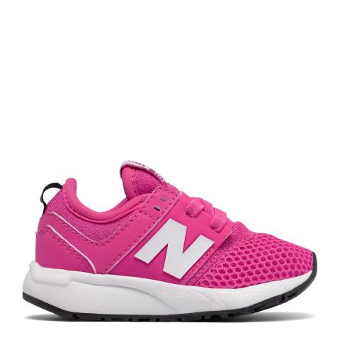 New Balance Infant Pink Classic Sneakers