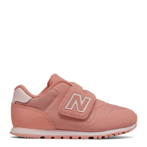 New Balance Infant Coral Hook and Loop Sneakers