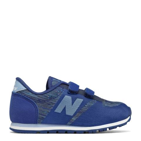 New Balance Blue Hook and Loop Sneakers