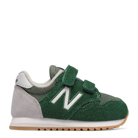 New Balance Green Hook and Loop Sneakers