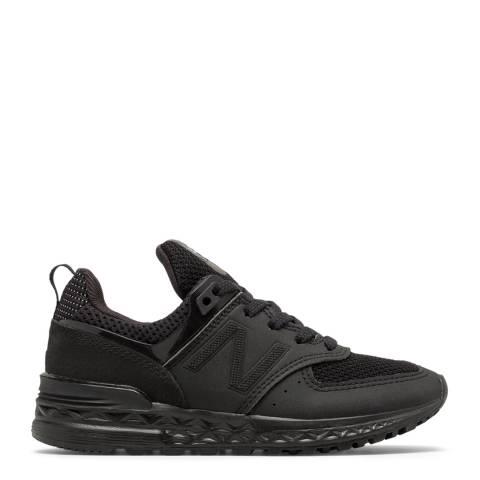 New Balance Junior Black Sport Sneakers