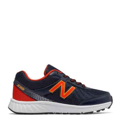 New Balance Navy/Orange Training  Running Shoes