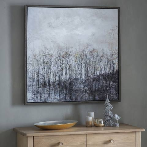 Gallery Natural Autumn Forest Framed Wall Art 85x85cm