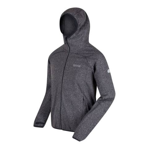 Regatta Black/Grey Raisby Softshell Jacket