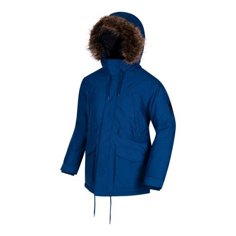 Regatta Blue Alarik Coat