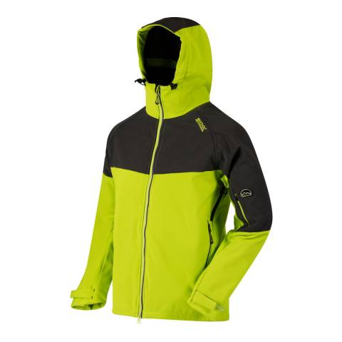 Regatta Lime Green Hewitts III Softshell Jacket