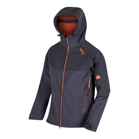 Regatta Slate Grey Hewitts III Softshell Jacket