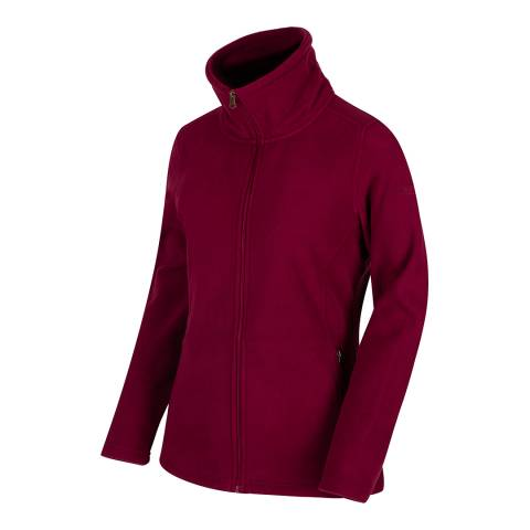 Regatta Burgundy Cathie III Fleece Jacket