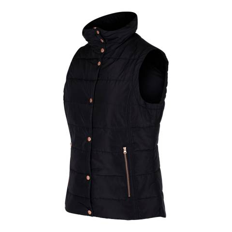 Regatta Black Wynne Bodywarmer Gilet
