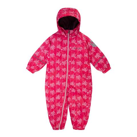 Regatta Pink Fox Printed All-In-One Suit