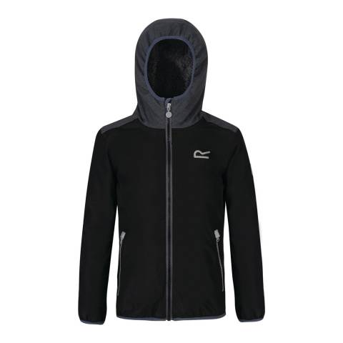 Regatta Black Volcanics Waterproof Jacket