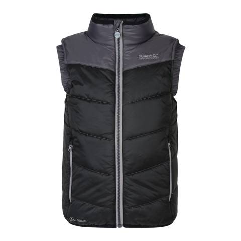 Regatta Kids Black/Iron Icebound II Gilet