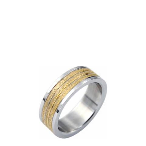Stephen Oliver Gold/Silver Band Ring