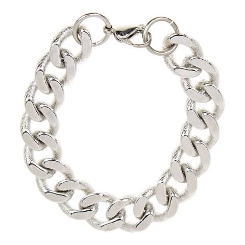 Stephen Oliver Silver Textured Bracelet