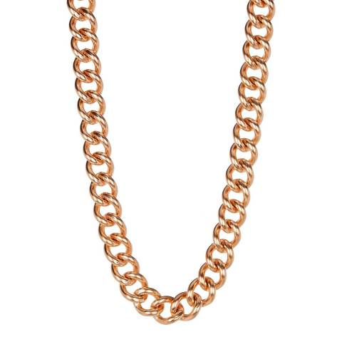 Stephen Oliver Rose Gold Cable Necklace