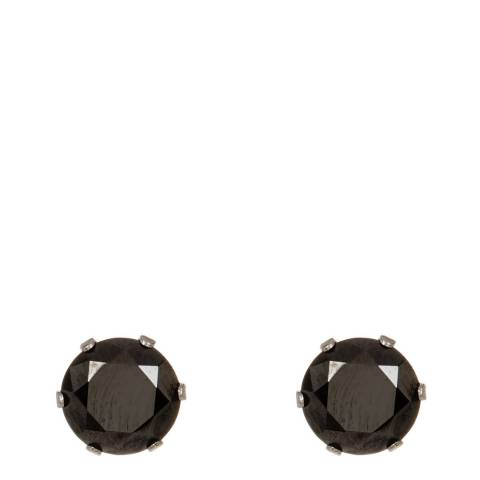 Stephen Oliver Black Zirconia Stud Earrings