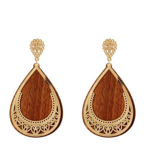 Amrita Singh Gold Amna Earrings