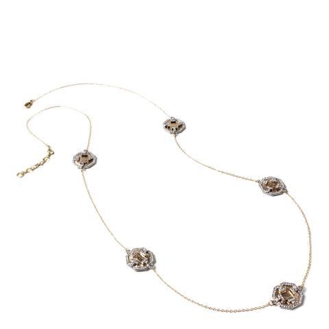 Amrita Singh Gold/Silver Otto Station Necklace