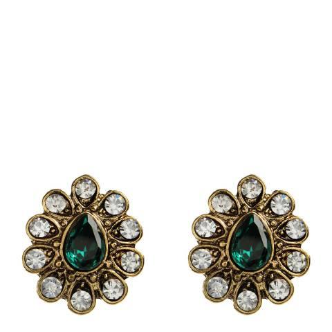 Amrita Singh Emerald Gayatri Studs