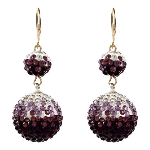 Amrita Singh Purple Mariah Ball Drops
