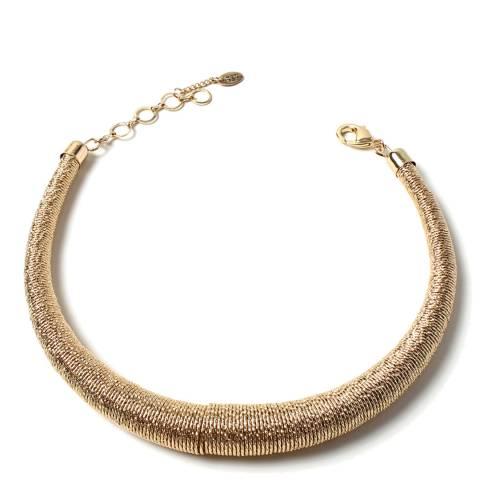 Amrita Singh Gold Sphere Collar Necklace
