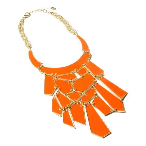 Amrita Singh Coral Geometric Necklace