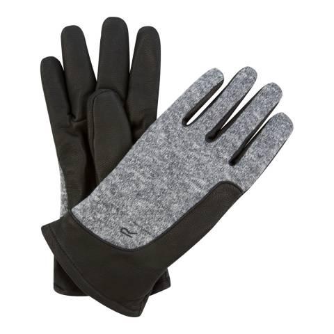 Regatta Men's Black/Grey Gerson Gloves