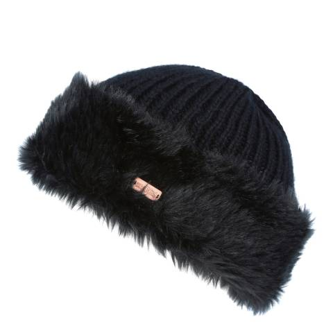 Regatta Women's Black Faux Fur Ludz Hat