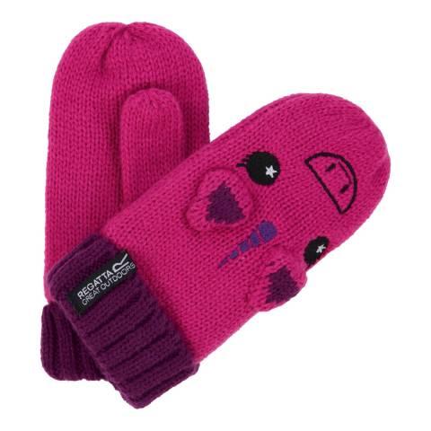 Regatta Pink/Purple Animally Mitts II
