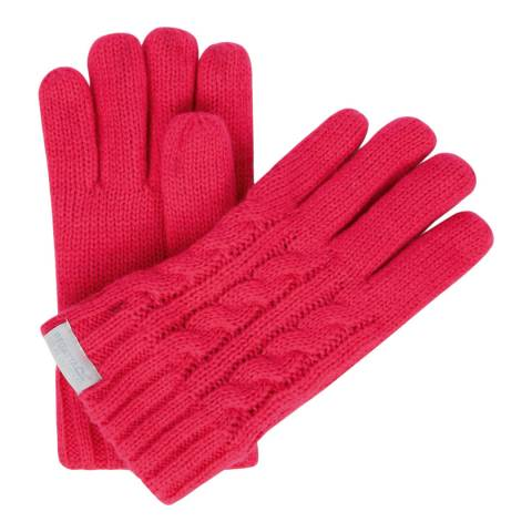 Regatta Bright Pink Kids Multimix Gloves