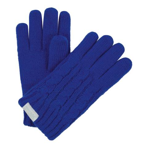 Regatta Blue Kids Multimix Gloves
