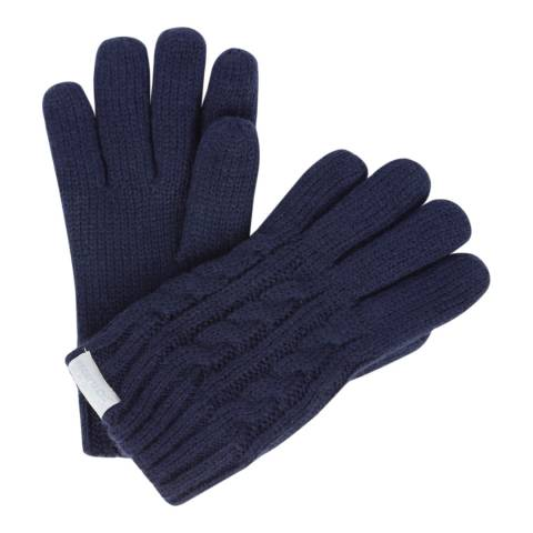 Regatta Navy Kids Multimix Gloves