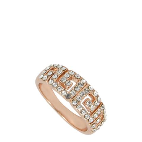 MUSAVENTURA Gold Crystal Patterned Ring