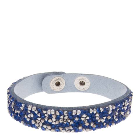 MUSAVENTURA Silver And Blue Crystal Bracelet