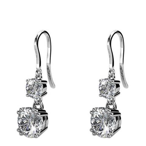 MUSAVENTURA Double Crystal Earrings