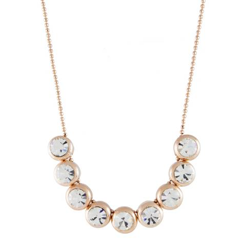 MUSAVENTURA Gold Crystal Necklace