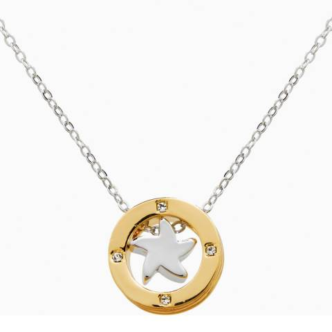 MUSAVENTURA Silver And Gold Star Necklace
