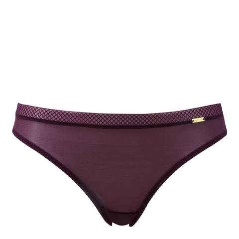 Gossard Grape Glossies Thong