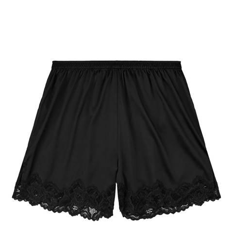 Pleasure State White Label Black Rosita Fortuna Shorts